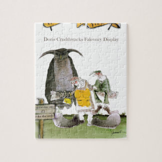 love yorkshire falconry display jigsaw puzzle