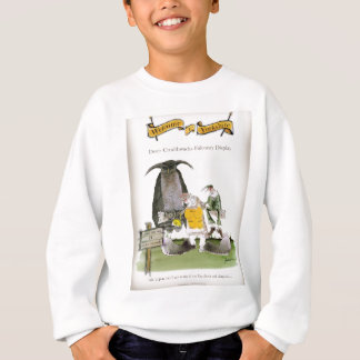love yorkshire falconry display sweatshirt