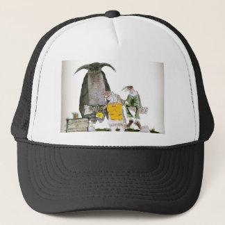 love yorkshire falconry display trucker hat