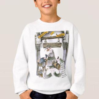 love yorkshire flat fish sweatshirt