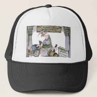 love yorkshire flat fish trucker hat