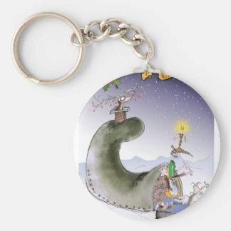 love yorkshire happy christmas key ring