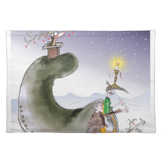 love yorkshire happy christmas placemat