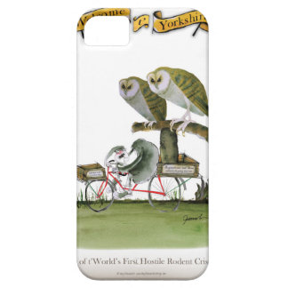 love yorkshire hostile rodent unit iPhone 5 case