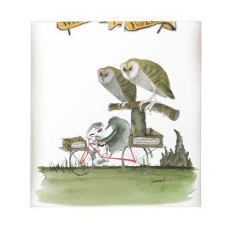 love yorkshire hostile rodent unit notepad