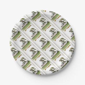 love yorkshire hostile rodent unit paper plate