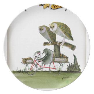 love yorkshire hostile rodent unit plate