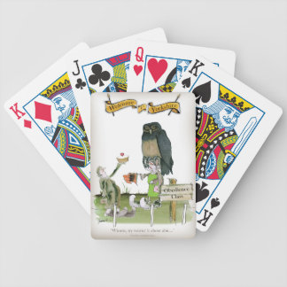 love yorkshire obedience class bicycle playing cards