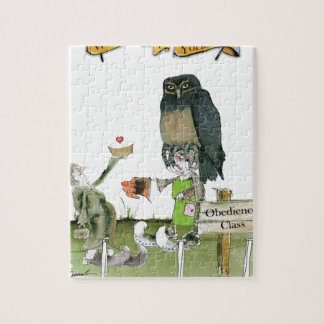 love yorkshire obedience class jigsaw puzzle