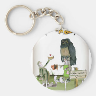 love yorkshire obedience class key ring