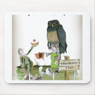 love yorkshire obedience class mouse pad