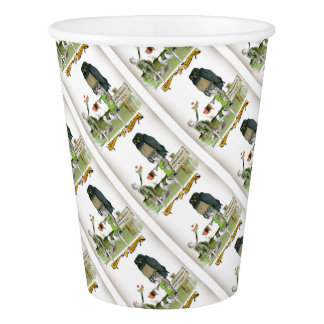 love yorkshire obedience class paper cup