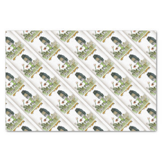 love yorkshire obedience class tissue paper