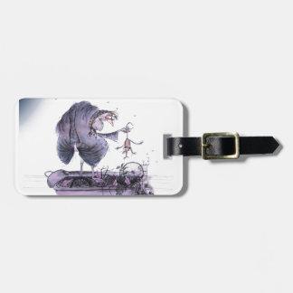 love yorkshire ol' ma ferret luggage tag