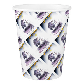 love yorkshire ol' ma ferret paper cup