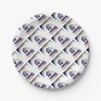 love yorkshire ol' ma ferret paper plate