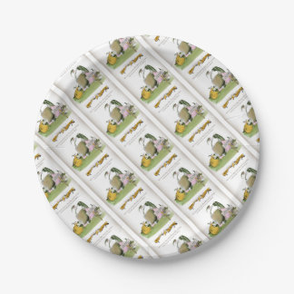 love yorkshire sausage maker paper plate