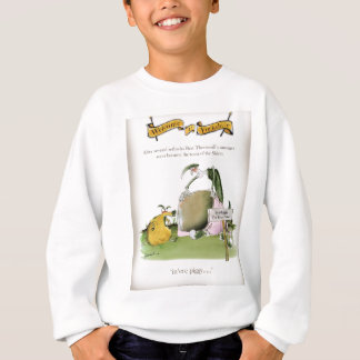 love yorkshire sausage maker sweatshirt