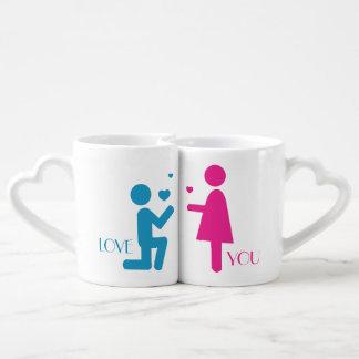 Love You Be Mine II Coffee Mug Set