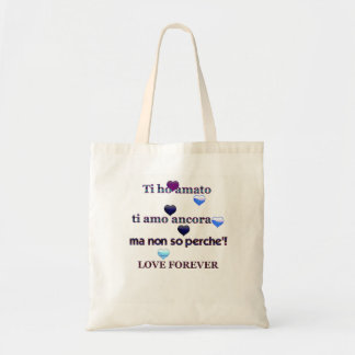 LOVE YOU - BY KALLISTAMOON TOTE BAG