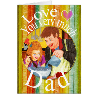 Love you dad cards