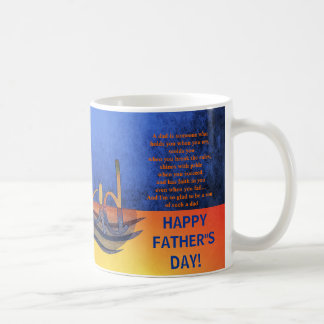 Love you Dad Father's day fishing vintage mugs