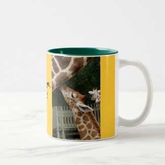 Love You Dad Giraffe Mug