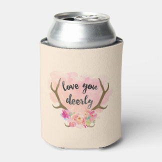Love You Deerly Can Cooler