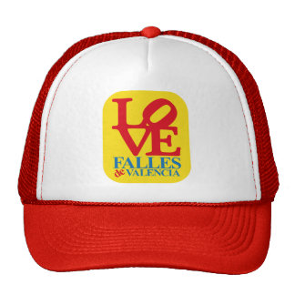 LOVE YOU FAIL YELLOW STAMP HAT