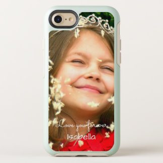 Love you Forever | your photo and name OtterBox Symmetry iPhone 8/7 Case