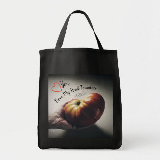 Love You From My Head Tomatoes Tote Bag