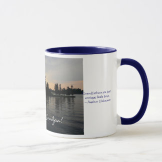 Love you Grandpa!-Sunset at Thousand Islands Mug