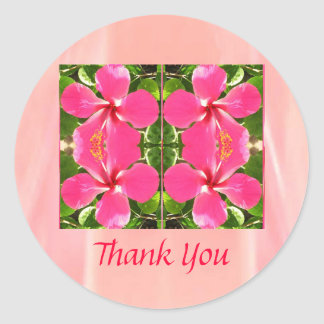 LOVE you KISS you Round Sticker