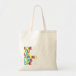 Love You Like a Fat Kid Loves Cake Tote Budget Tote Bag
