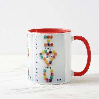 Love You Lots like Jelly Tots birthday christmas Mug