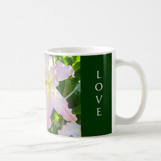 Love You Love You Love You Coffee Cup Pink Lily Mugs