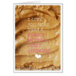 Love you more than peanut butter jelly greeting cards