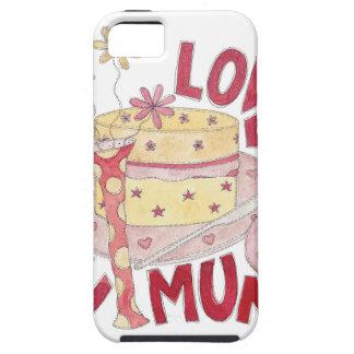Love You Mum Tough iPhone 5 Case