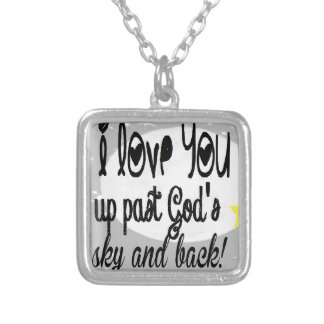 Love you past God s Sky Pendants