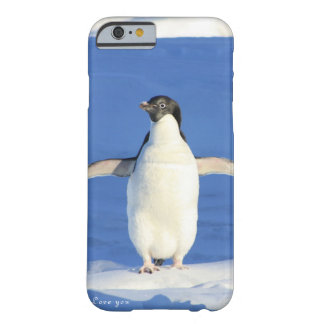 Love you penguin gift barely there iPhone 6 case