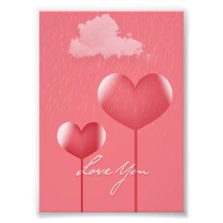 Love You Photo Print