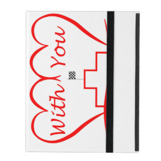 Love You, successfully with you together iPad Folio Case