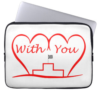 Love You, successfully with you together Laptop Sleeve
