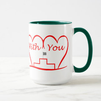 Love You, successfully with you together Mug