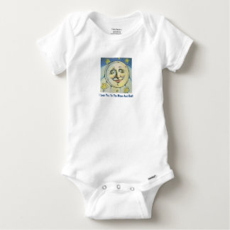 Love You To The Moon And Back Onsie Baby Onesie