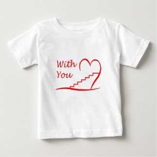 Love You, with you together the stairs up Baby T-Shirt