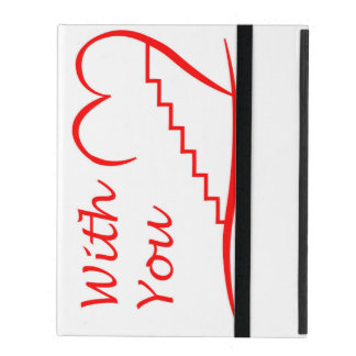 Love You, with you together the stairs up iPad Cover