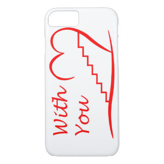 Love You, with you together the stairs up iPhone 8/7 Case