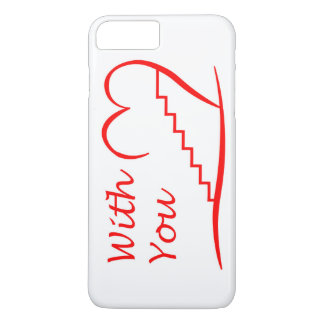 Love You, with you together the stairs up iPhone 8 Plus/7 Plus Case