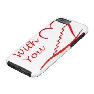 Love You, with you together the stairs up Tough iPhone 6 Case